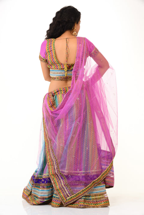 Multicolor Pretty Lehenga Choli