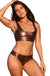 Ujena Easee Fit Action Bronze Cheeky Bikini Top Only