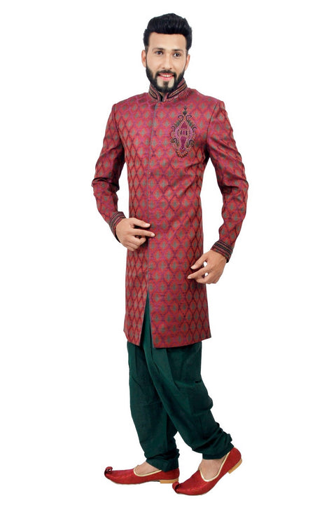 Royal Groom Indian Wedding Indo-Western Sherwani for Men