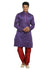 Purple Indian Wedding Kurta Pajama Sherwani - Indian Ethnic Wear for Men