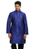Violet Silk Pathani Kurta for Men