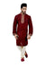 Indian Traditional Silk Maroon Kurta Pajama for Men