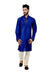 Indian Traditional Silk Blue Kurta Pajama for Men