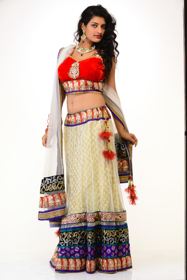 SALE - Sizzling Party-wear Lehenga Choli