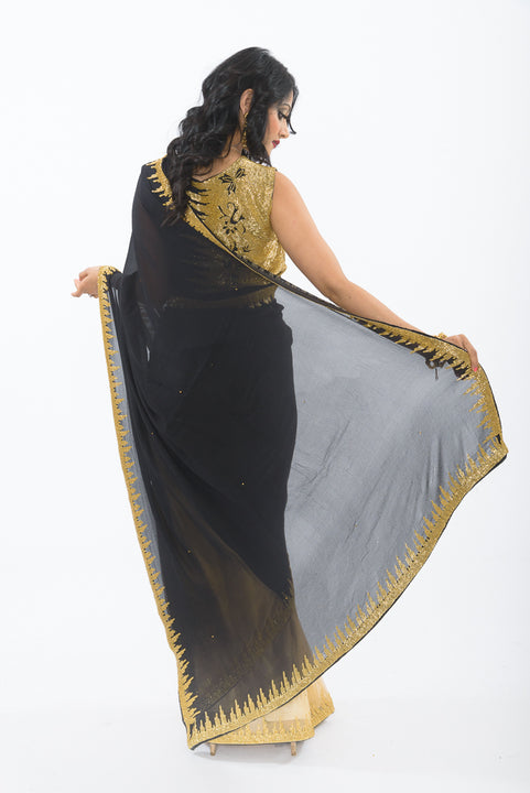 City Lights Modern Party wear Sari