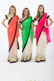 Rich and Famous Bright Colored Bridesmaid Saris