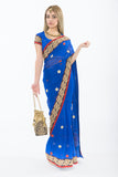 Atlantic Royal Blue Ready-Made Pre Pleated Sari
