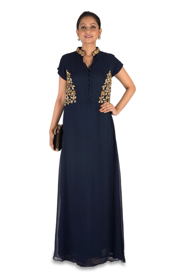 Midnight Blue Long Tunic