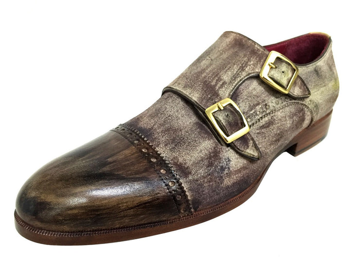 Oscar William Young Street Men Luxury Classic Handmade Leather Shoes-9.5