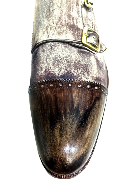Oscar William Young Street Men Luxury Classic Handmade Leather Shoes-6