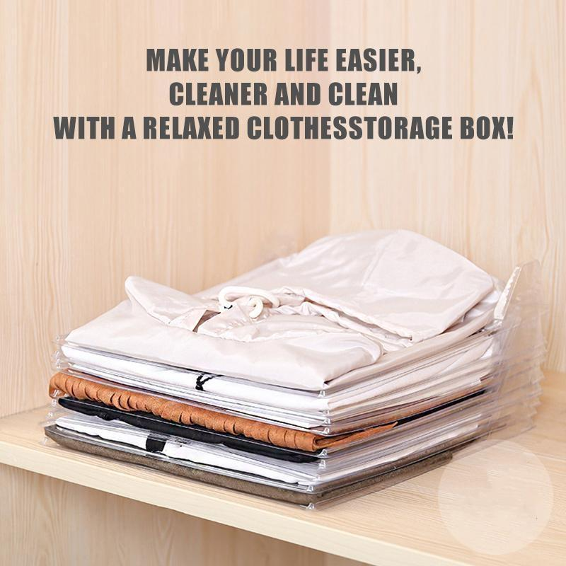 (50% Discount Today)Effortless Clothes Organizer