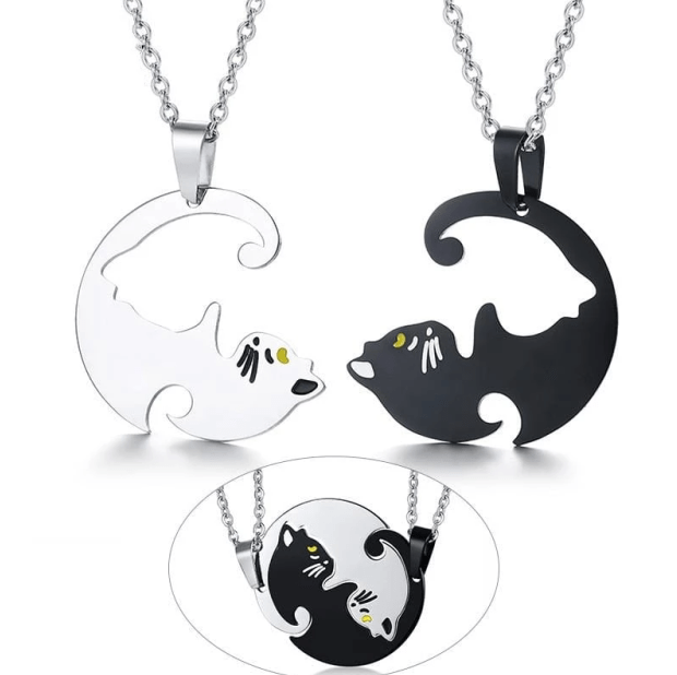 Couple Cat Necklace(2 FREE SHIPPING)