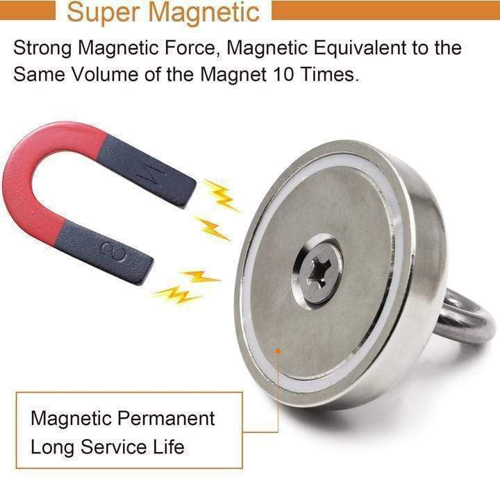 🔥【Hot Sale】- Magnetic Salvage Ring Deep Sea Fishing Magnet