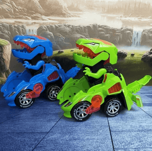 【BUY 2 GET EXTRA 10% OFF + FREE SHIPPING】Transforming Dinosaur LED Car