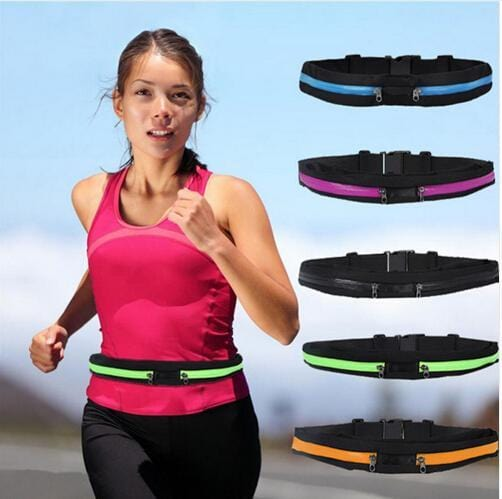 Fitness running cycling pockets Anti-theft waterproof mobile phone bag invisible belts