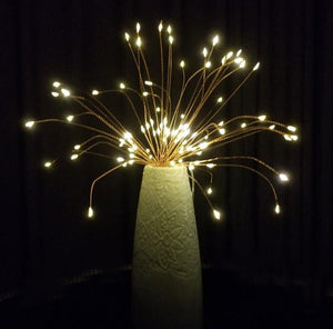 LED Copper Wire Firework Lights-Buy 4 Free Shipping