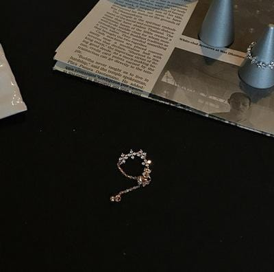 Adjustable Flower Chain Ring