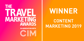 Travel Marketing Awards - Winner 2019