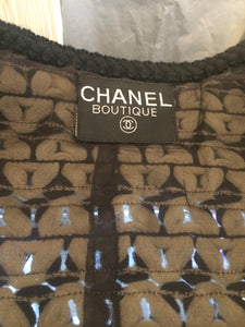 Vintage 1980's Authentic CHANEL Tweed Jacket