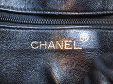 Load image into Gallery viewer, Chanel Vintage Quilted Leather Drawstring Chain Shoulder Bag c. 1980