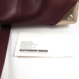 Vintage Alexander Wang Leather Pouch Bag