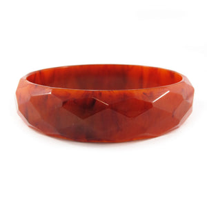 Vintage Bakelite faceted bangle c.1950's