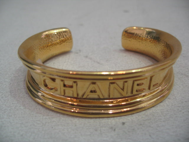 Signed Vintage Chanel Cuff