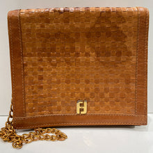 Load image into Gallery viewer, Vintage FENDI Caramel Woven Bag