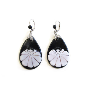 Vintage Pierrot Earrings