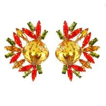 Load image into Gallery viewer, Harlequin Market Crystal Earrings - Multi