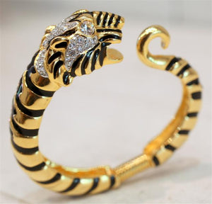 Rare Kenneth Jay Lane Tiger Cuff