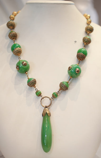 Vintage 1930's Galalith Necklace