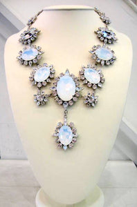 Harlequin Market Crystal Necklace
