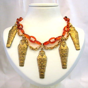 Vintage Pharoah Necklace