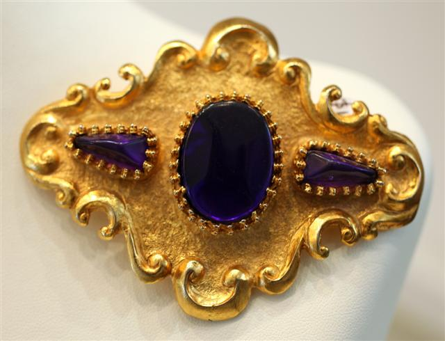 Signed Vintage Christian Lacroix Brooch