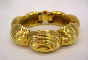 Vintage Gold Plated Clamper