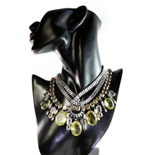 Load image into Gallery viewer, Signed 'Iradj Moini' Citrine and Crystal Neckpiece