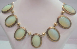 French 1930's Glass Necklace