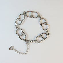Load image into Gallery viewer, Vintage Silver Christian Dior 'CD' Logo Bracelet