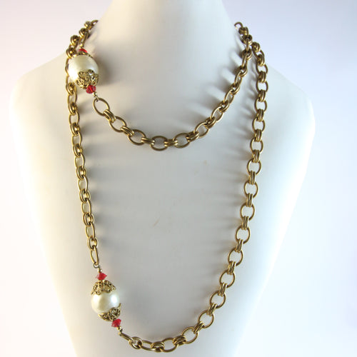 Chanel Vintage Sautoir c.1983 Necklace