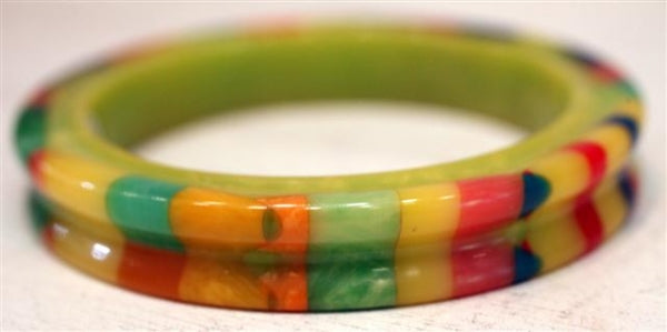 Signed Shultz Bakelite Bangle