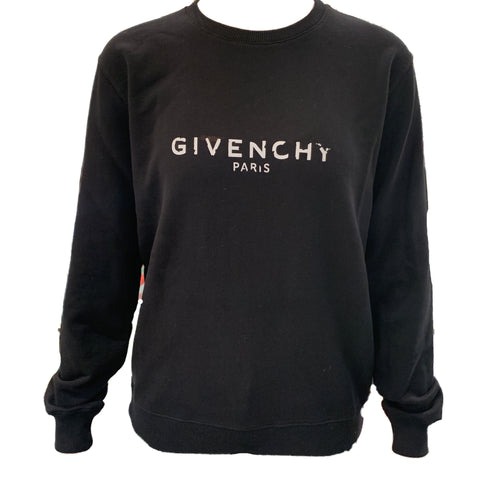 New Givenchy Black Pull Over Jumper