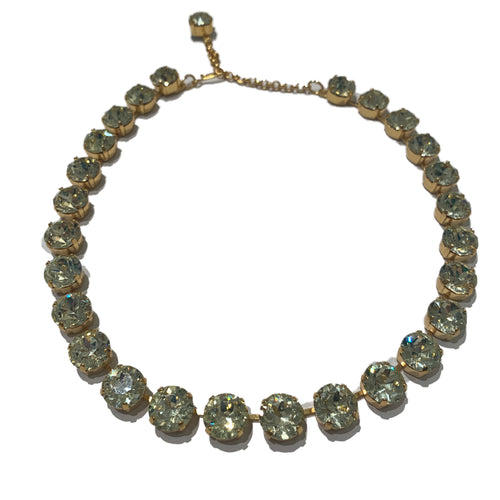 Harlequin Market Crystal Accent Necklace - Jonquil (small)