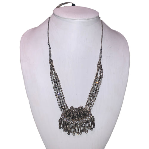 Vintage Tribal Crystal Necklace