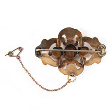 Load image into Gallery viewer, Antique Pinchbeck Crystal Brooch