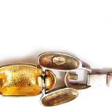 Load image into Gallery viewer, Signed 'Givenchy' silver + gold link bracelet