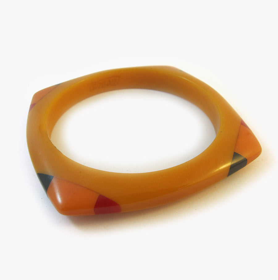 Vintage Bakelite Bangle Reworked by 'Teresa'