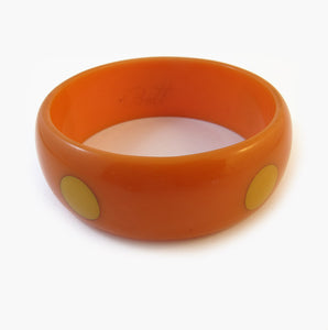 Vintage Bakelite Bangle Signed 'Pantti'