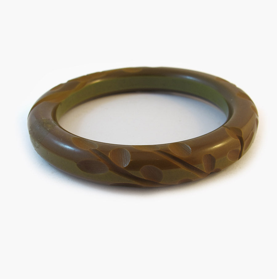 Vintage Carved Bangle