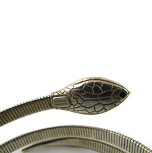Load image into Gallery viewer, Vintage Sterling Silver Signed 'Forstner' Snake Coil Bangle